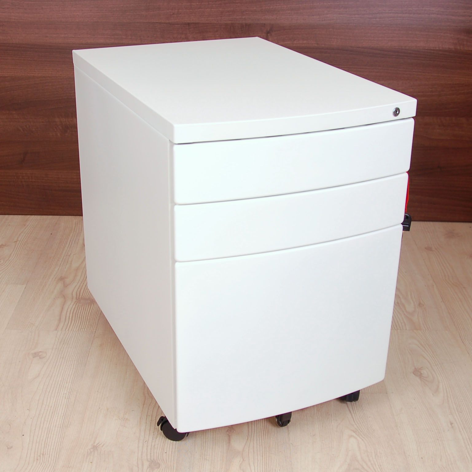 Flex New White Pedestal White Under Desk Drawers
